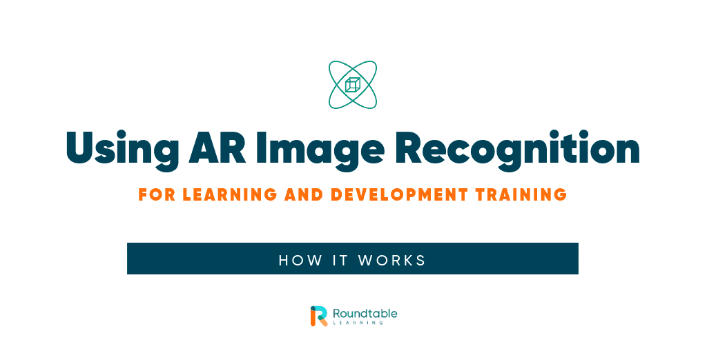 Using AR image recognition for learning and development training