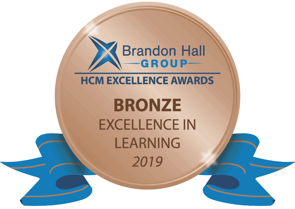 2019 Brandon Hall Group Bronze- Best Advance in Custom Content