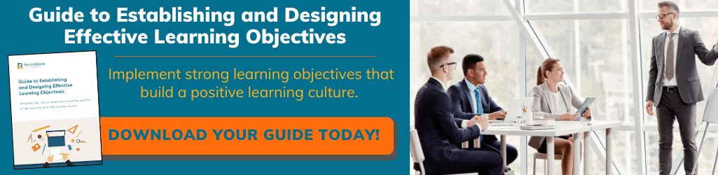 Guide to Establishing and Designing Effective Learning Objectives