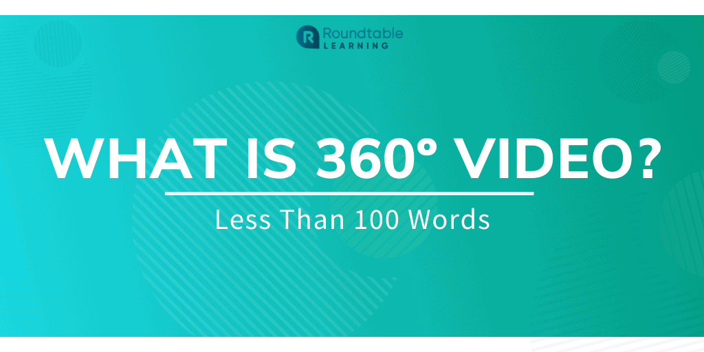 What is 360º Video? Less Than 100 Words