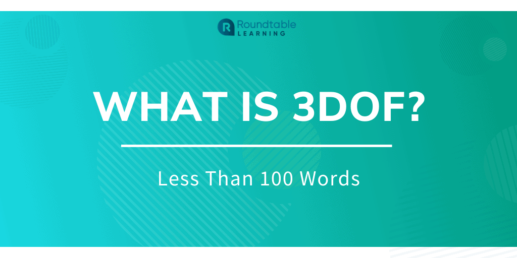 What is 3DoF (Three Degrees of Freedom)? Less Than 100 Words