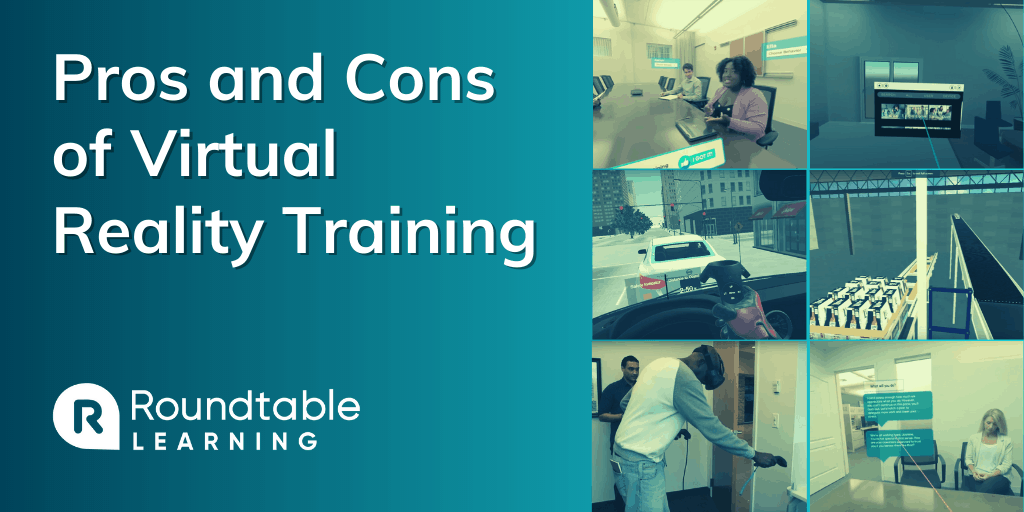 Virtual Reality Training: Pros and Cons