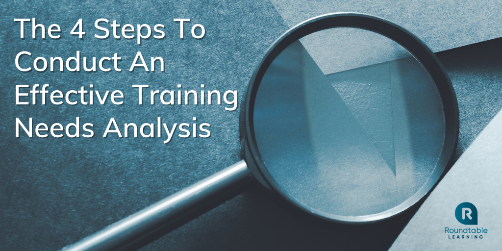 The 4 Steps To Conduct An Effective Training Needs Analysis