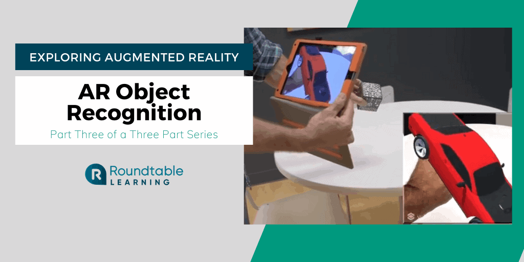 AR Object Recognition: The Essentials And Two Examples In Training