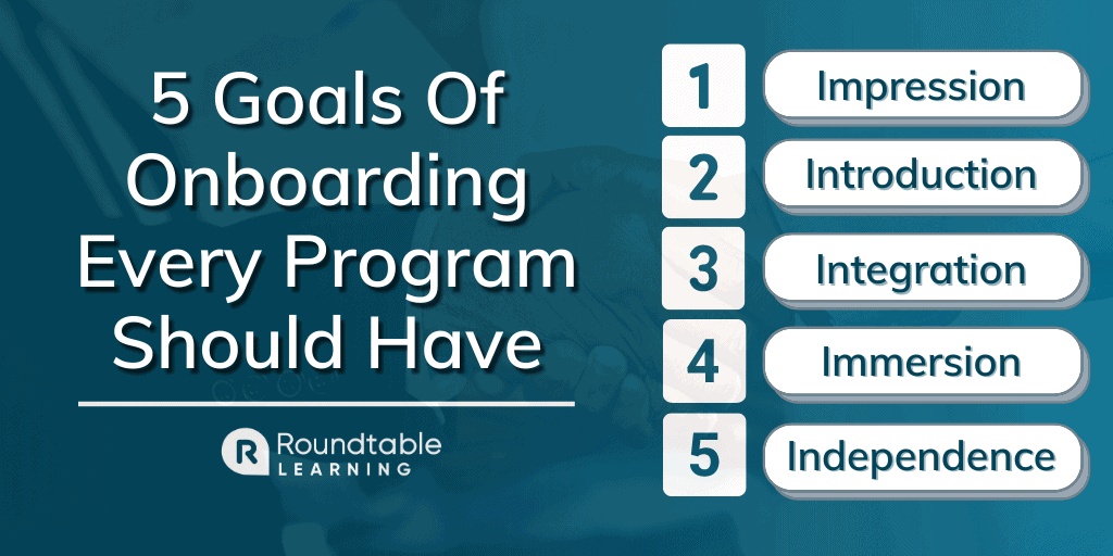 5 Goals Of Onboarding That Every Program Should Have