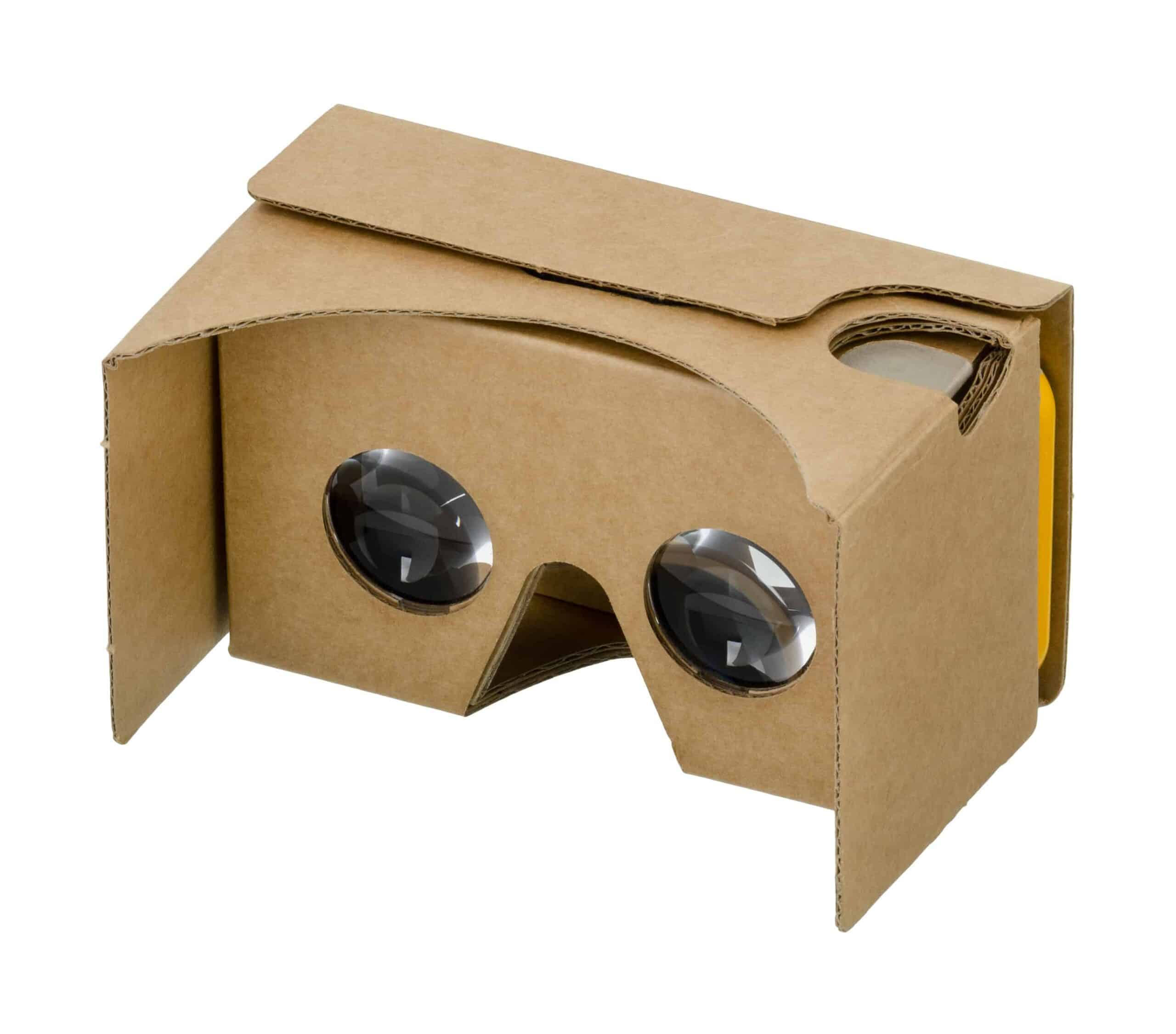 Google Cardboard Headset for VR