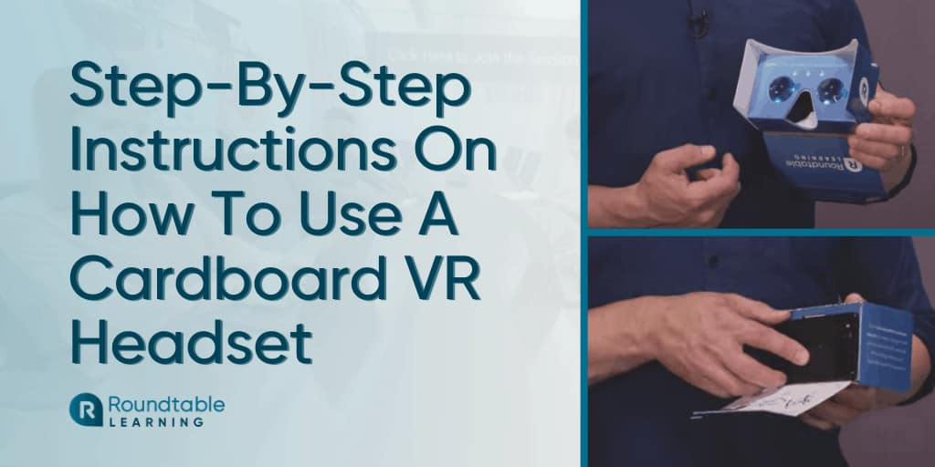 How To Use A Cardboard Virtual Reality Headset For iPhone And Android