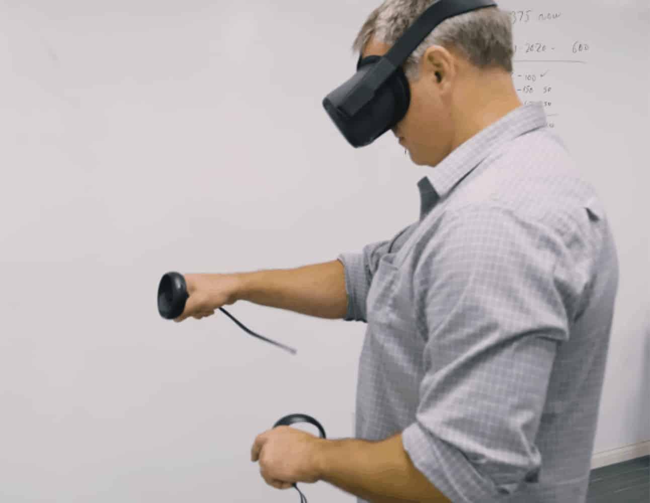 virtual reality training learner
