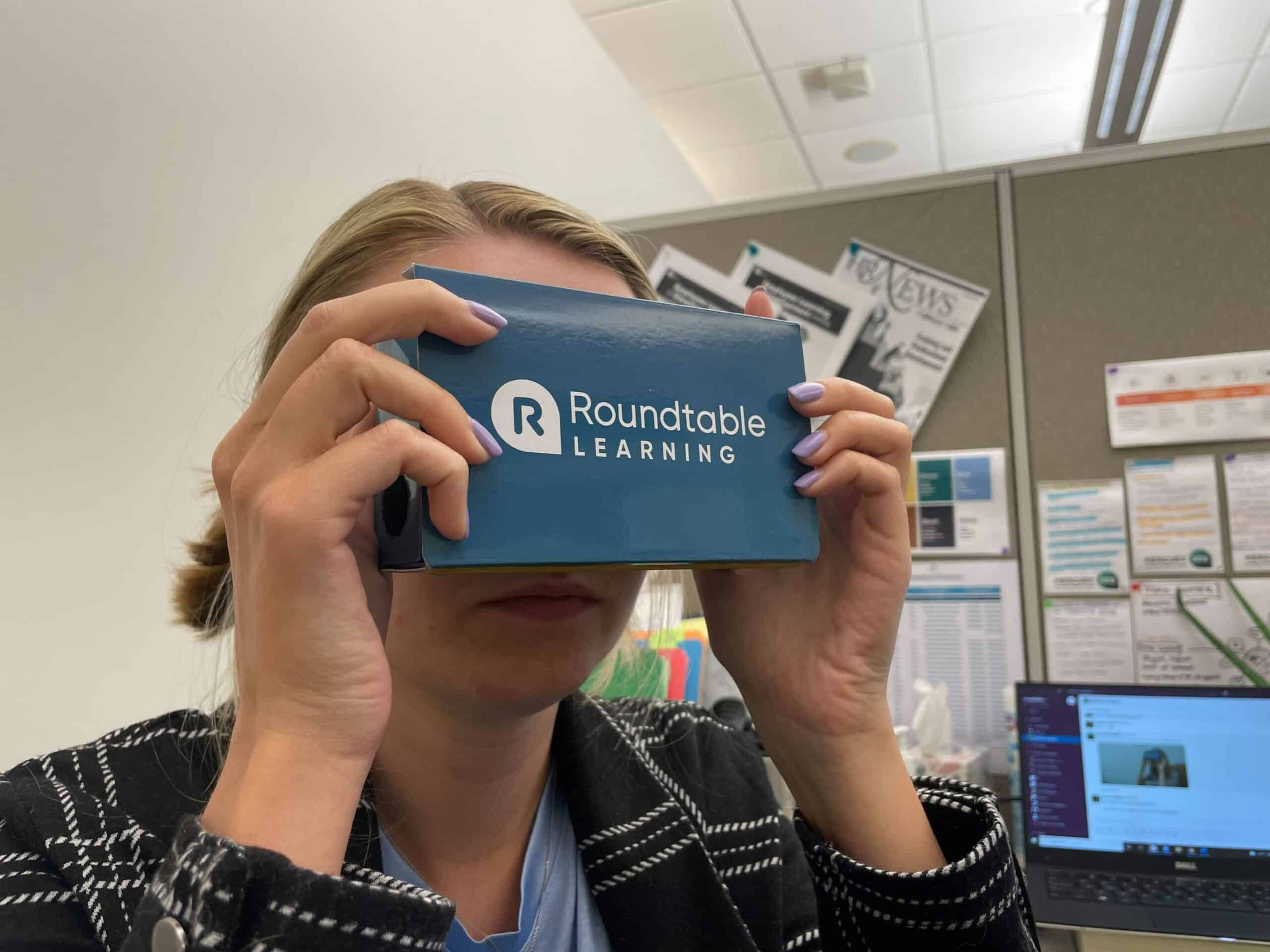 cardboard virtual reality headset